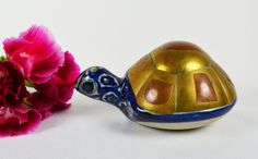 Vintage Turtle Figure in Tonala Mexican by TheVintageRoad2Retro, $19.50