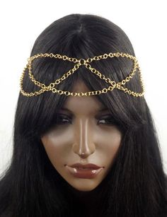 Rose Gold Head Chain Headpiece