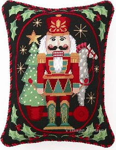 ❤ =^..^= ❤   http://ep.yimg.com/ay/yhst-59166112805471/nutcracker-with-pull-toy-needlepoint-pillow-11.gif