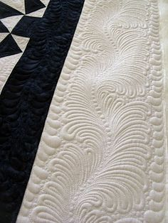 nice sashing design.  Green Fairy Quilts