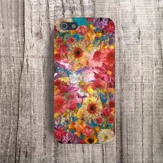 Retro iPhone 5 Case Floral iPhone4s Case iPhone 4 by casesbycsera