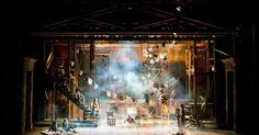 Oliver! Cabrillo Sta - Oliver! Cabrillo Stage. Scenic design by Charles Murdock Lucas. --- #Theaterkompass #Theater #Theatre #Schauspiel #Tanztheater #Ballett #Oper #Musiktheater #Bühnenbau #Bühnenbild #Scénographie #Bühne #Stage #Set