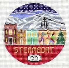 """Steamboat Round 4"""" 18 mesh"""