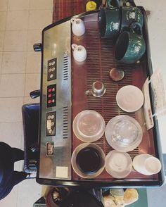 Top of the mornin' to ya! #coffeehouse #coffee #tatestreetcoffeehouse #tatestreetcoffee #espresso #espressomachine #barista #uncg #gc #greensboro http://ift.tt/1VbgBi2