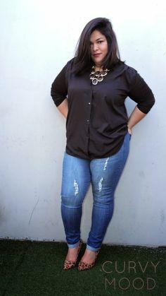 Plus Size Fashion - Curvy Mood