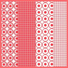Free digital red and white scrapbooking and fun paper – ausdruckbares Geschenkpapier – freebie | MeinLilaPark – DIY printables and downloads...