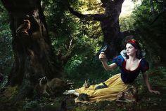 Annie Leibovitz's Celebrity Disney Dream Portraits - My Modern Met