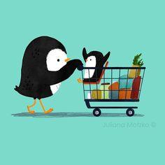 Yay! Let's Go To The Supermarket | Juliana Motzko