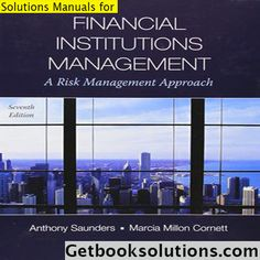 You will download digital wordpdf files for complete solution solution manual for financial institutions management a risk management approach 8th edition by saunders 5 100 1 vote this is complete solutions manual fandeluxe Choice Image