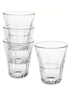 Brooklyn Stackable Glasses, Set of 6, 12 Oz