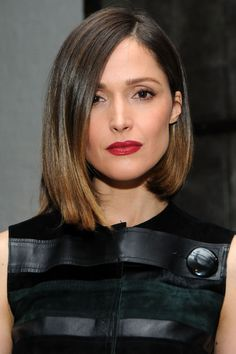 Blunt ends at a sharp back-to-front angle feel both polished and edgy.   - HarpersBAZAAR.com