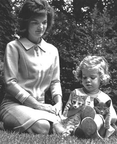 Take a Look Inside Cat Lady Chic - JACQUELINE BOUVIER KENNEDY, 1960 from #InStyle