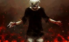 Ken Kaneki Art Picture Tokyo Ghoul Anime 1920×1200