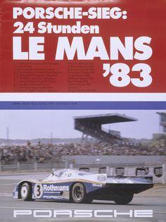 1983 racing poster