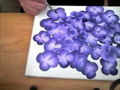 Ratgeber, Acrylmalerei- Blüten