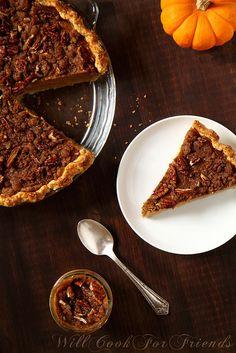Pumpkin Pie, 1/3 by WillCookForFriends, via Flickr