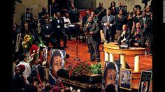 Michael Brown's funeral