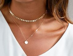 Dangling Diamond Necklace with Dangling Gold Disc in Solid Gold / Diamond Choker / Gold Choker / Disc Choker / Rose Gold / White Gold ✔. The listing is for one Dangling Necklace. The Single Solitaire Necklace is not included in the listing. Layered Choker Necklace, Coin Pendant Necklace, Diamond Cross Necklaces, Diamond Choker, Diamond Solitaire Necklace, Long Chain Necklace, Initial Necklace, Necklace Lengths, Jewelry Necklaces