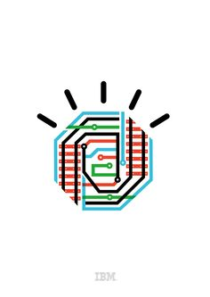 Delicious icons from IBM's Smarter Planet advertising campaign by Ogilvy launched in 08/09.