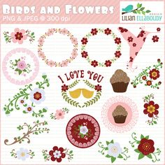 Great for Valentine's Day! These will look great in party decorations,  digitized embroidery designs, stationary, apparel, envelopes, cards and  invites, educational materials, lesson plans and more