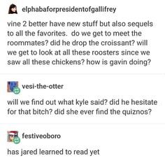 Hi my name's Jared and I finally f***ing learned how to read