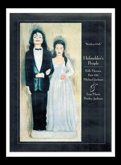 Vintage Print 1994 : Michael Jackson / Lisa by NostalgicDreamsCND