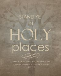 LDS Youth Theme 2013- Stand Ye in Holy Places