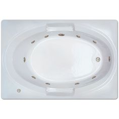 Jacuzzi  Inches L X  Inches W X  Inches H Primo Person - 60 inch whirlpool tub