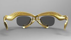 Highly personalised frames and lenses that block screens are among the eyewear concepts proposed by Israeli designers for the Design Museum Holon.