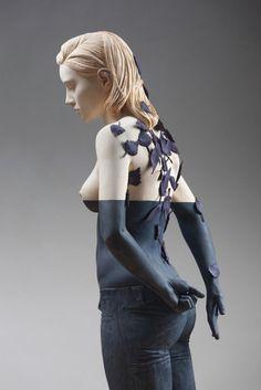 Les sculptures en bois de Willy Verginer Photo