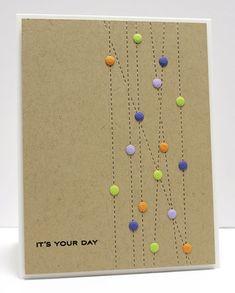 Stitched Strip Die-namics, Birthday Sentiments - Jody Morrow #mftstamps