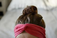 Pieni Lintu: DIY headband without sewing