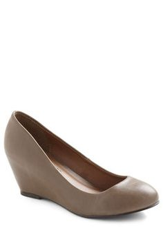 More or Effortless Wedge, #ModCloth    Adorable!