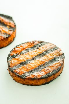Sweet and Spicy Tofu Burgers – My FAVORITE way to eat tofu. We love to grill these all summer long. Even non-vegans love them!