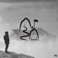 삶 (LIFE) - by Korean Graphic Designer Lee Da Ha ( 이다하)