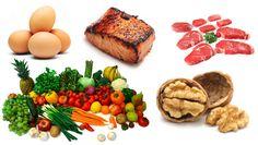 Paleo strava stravovanie ukážka jedálnička