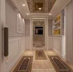 Room Interior Design, Home Room Design, Dream Home Design, Modern House Design, Prayer Corner, Plafond Design, Model House Plan, Islamic Decor, Prayer Room