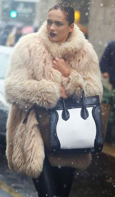 Awesome coat. Looks so warm.