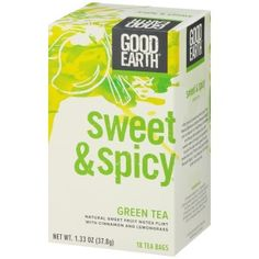 Who doesn't love hot tea on a cold winter day? Good Earth Tea sells organic teas that are made with natural ingredients and have no artificial flavors, colors, sugars or preservatives! The best part is that you get 18 bags for under five bucks! Learn more about Good Earth tea featured in our Cool Outrageous Stuff section:
