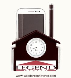 #HouseShaped #CellPhoneHolder WAUGING7300 http://woodartsuniverse.com/catalog/product_info.php?products_id=421