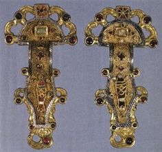 Merovingian Fibula