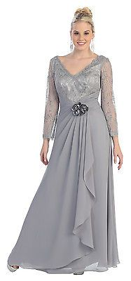 Mother Of Bride Dress Long Plus Size Formal