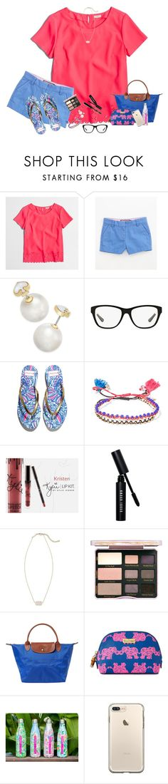 """""""Spring Break Contest // US Virgin Islands"""" by bowbeauty01 ❤ liked on Polyvore featuring J.Crew, Vineyard Vines, Kate Spade, Ralph Lauren, Lilly Pulitzer, Isabel Marant, Bobbi Brown Cosmetics, Kendra Scott, Too Faced Cosmetics and Longchamp"""