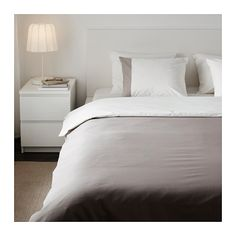 Subdued but classy for the price   FÄRGLAV Duvet cover and pillowcase(s) - Full/Queen (Double/Queen) - IKEA