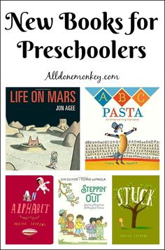 Take story time to a whole new level with these great new books for preschoolers! They are fun reads that you and your tot are guaranteed to enjoy! Preschool Learning Activities, Preschool Books, Book Activities, Kids Learning, Preschool Activities, Teaching Ideas, Books For Moms, New Books, Good Books