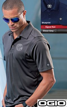 #ogio #rivet #mens #polos $40.98 Strategically placed rivets, a jeans-inspired placket and an extra smooth hand give this polo the right balance between edgy and classic.  Features: 4.9-ounce; 100% poly interlock with stay-cool wicking technology; triple-needle stitching throughout; OGIO heat transfer label for tag free comfort; self-fabric collar; OGIO jacquard neck tape; 3-button placket with OGIO engraved metal buttons with clear plastic rims; open hem sleeves; OGIO badge on left sleeve.