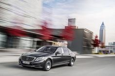 The ultimate in automotive exclusivity Mercedes Maybach S Class.