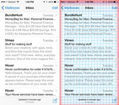 iPhone 5 / iOS 7 grid - Photoshop Secrets