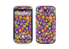 60s Flower Case designed for Galaxy S3 #Retro #vintage #Flower #samsungcase #galaxys3case #ultraskin #ultracase