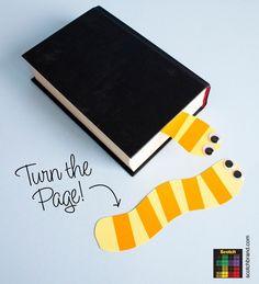 Para se apaixonar por livros! Além de trazer muito benefício para as crianças, o livro pode divertir e estimular a criatividade. Mais ainda com esse marcador de página, as próprias crianças podem fazer! ^^ #tudoemcosorcio